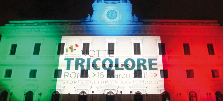 Notte Tricolore a Roma