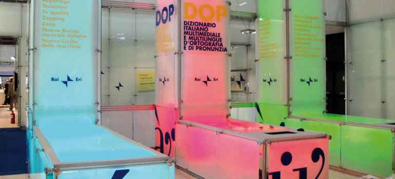 STAND RAI – Salone del libro di Torino 2010