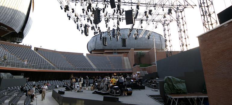 Palco Cavea – Parco della Musica