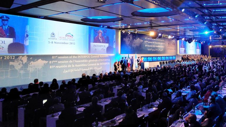 INTERPOL – LXXI Assemblea Generale, Roma 2012